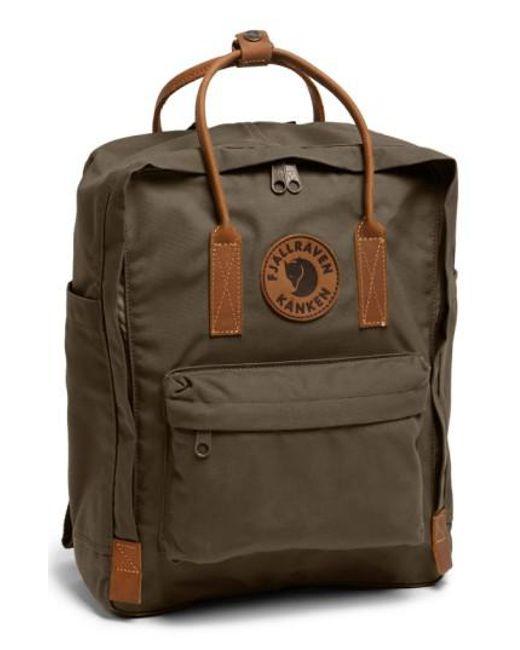 Fjallraven | Green 'kanken No. 2' Backpack for Men | Lyst