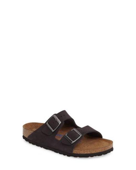 Birkenstock | Pink 'arizona' Soft Footbed Sandal | Lyst