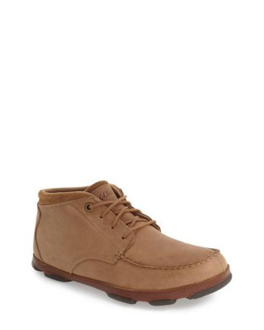 Olukai   Brown 'hamakua' Moc Toe Boot for Men   Lyst