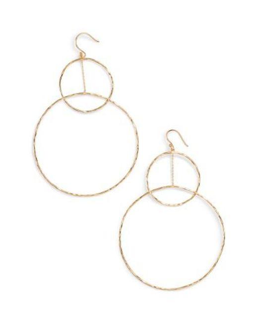 Gorjana | Metallic Large Drop Earrings | Lyst