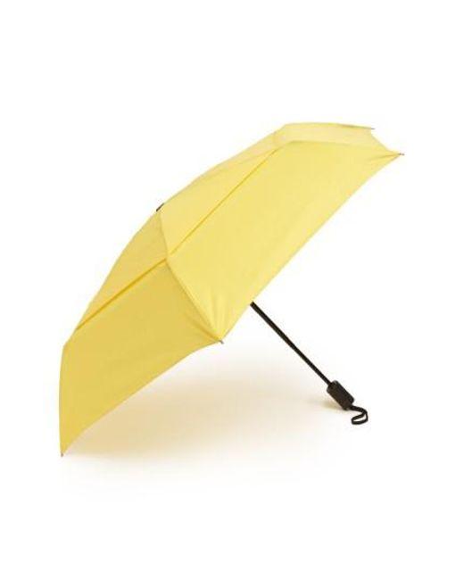 Shedrain   Yellow 'windpro' Auto Open & Close Umbrella   Lyst