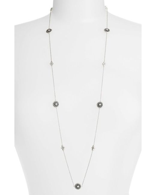 Freida Rothman | Metallic 'the Standards' Long Station Necklace | Lyst