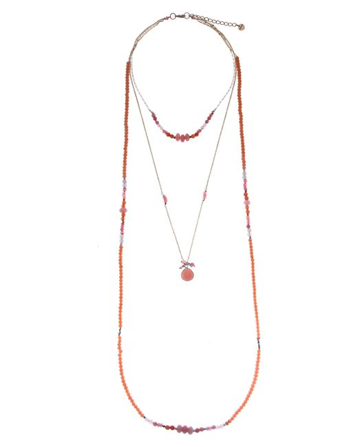 Nakamol - Multicolor Layered Crystal & Drusy Necklace - Lyst