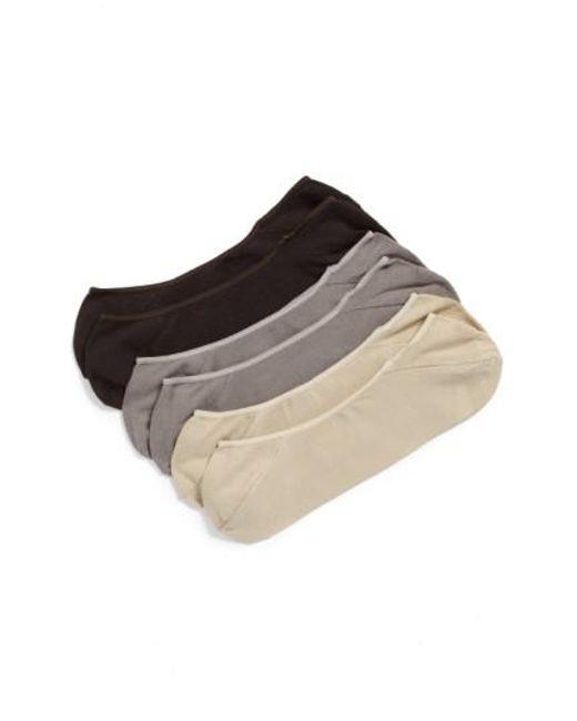 Calvin Klein | Multicolor 3-pack No-show Socks, Beige for Men | Lyst