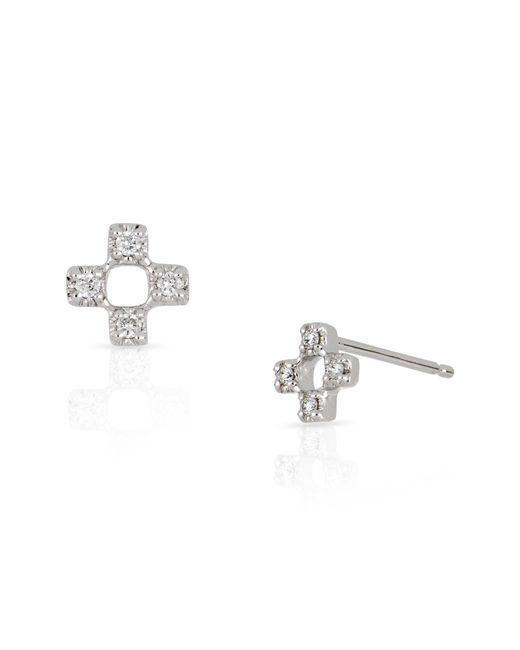 Bony Levy - Metallic Open Square Diamond Earrings (nordstrom Exclusive) - Lyst