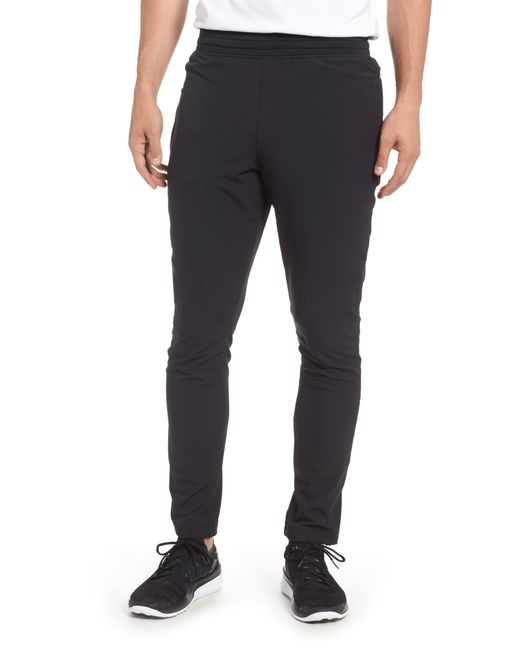 Under Armour - Black Fitted Woven Training Pants for Men - Lyst