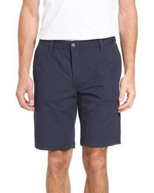 Tailor Vintage | Blue Reversible Walking Shorts for Men | Lyst
