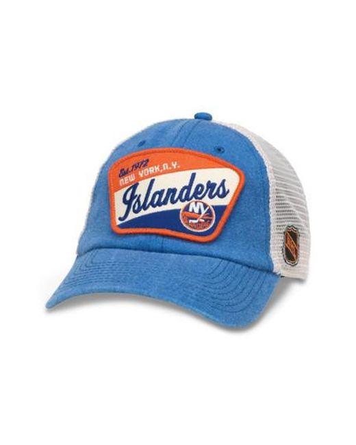 6d45dc93 Lyst - American Needle Ravenswood Nhl Trucker Cap - in Blue for Men