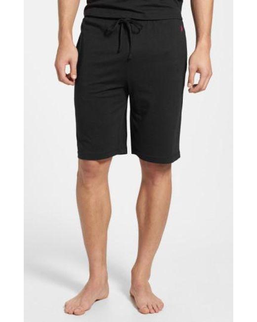 Polo Ralph Lauren | Black Sleep Shorts for Men | Lyst