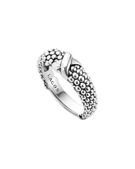 Lagos | Metallic 'signature Caviar' Ring | Lyst