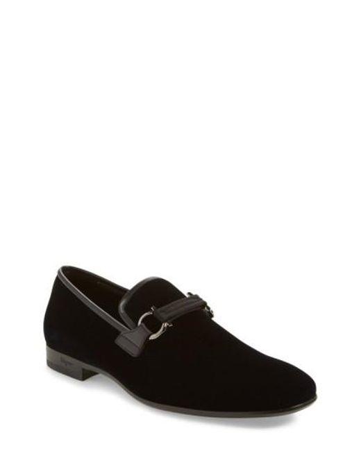 Ferragamo   Black 'party' Bit Loafer for Men   Lyst