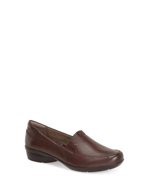 Naturalizer   Brown 'channing' Loafer   Lyst