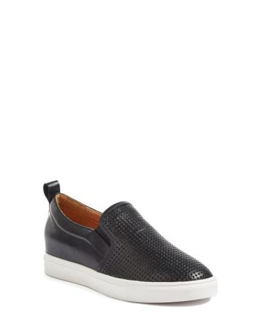 Caslon | Black Caslon Eden Perforated Slip-on Sneaker for Men | Lyst
