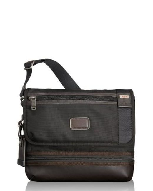Tumi | Brown 'alpha Bravo - Beale' Crossbody Bag for Men | Lyst