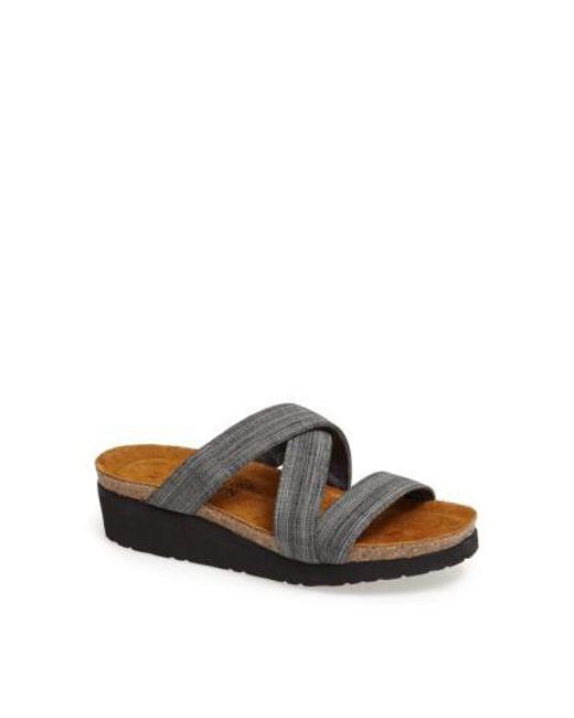 Naot | Gray 'naomi' Sandal | Lyst