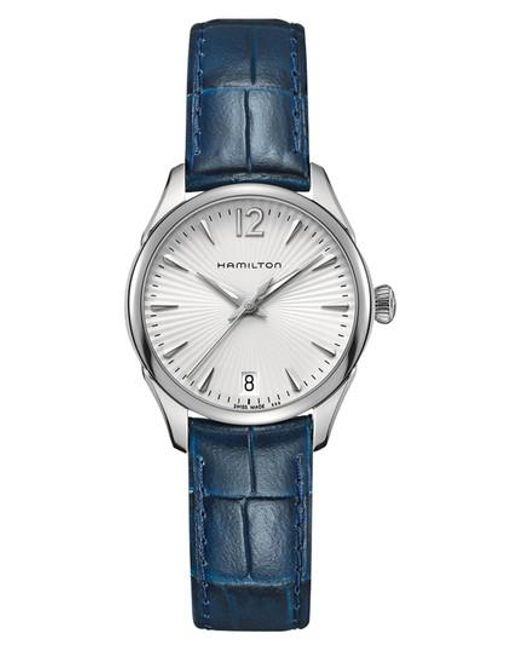 Hamilton - Metallic Jazzmaster Leather Strap Watch - Lyst