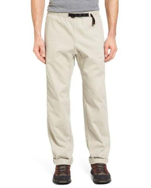 Gramicci - Natural Original G Twill Climbing Pants for Men - Lyst