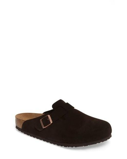 Birkenstock | Brown 'boston Soft' Clog for Men | Lyst