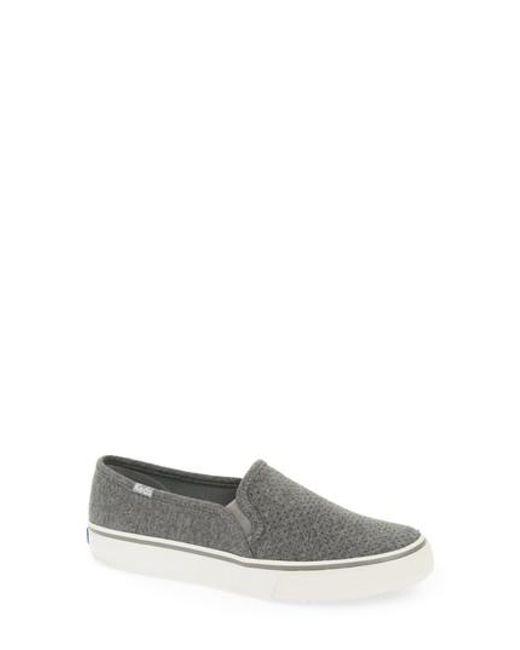 Keds - Multicolor Keds Double Decker Perforated Slip-on Sneaker for Men - Lyst