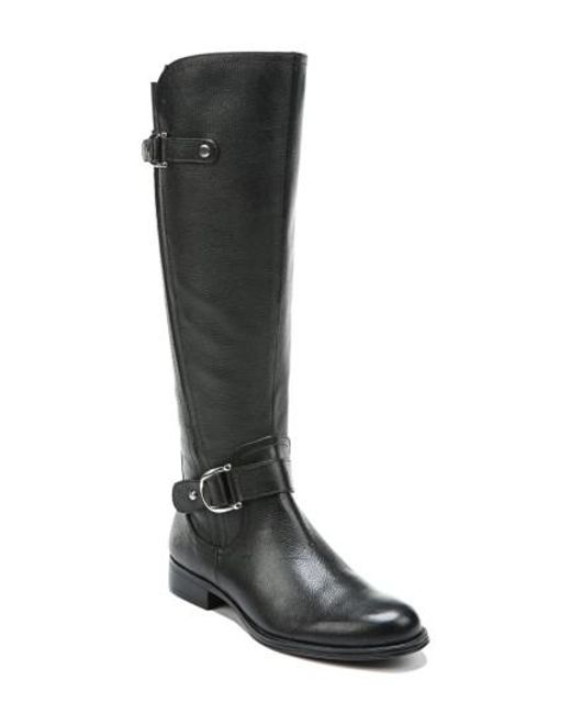 Naturalizer | Black Jenelle Tall Boot | Lyst