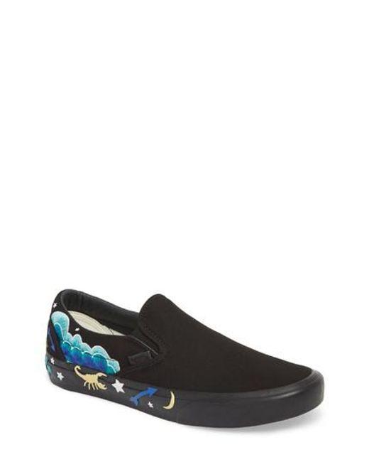 Mens Mens Classic Slip-On Desert Embellish Sneakers Vans NlvI28