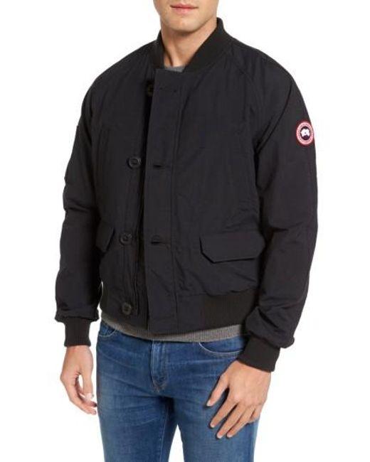 canada goose jacket bomber