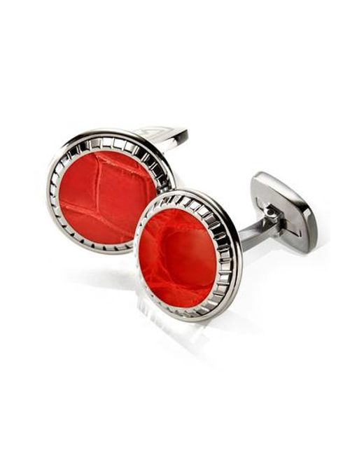 M-clip | Red M-clip Alligator Cuff Links for Men | Lyst