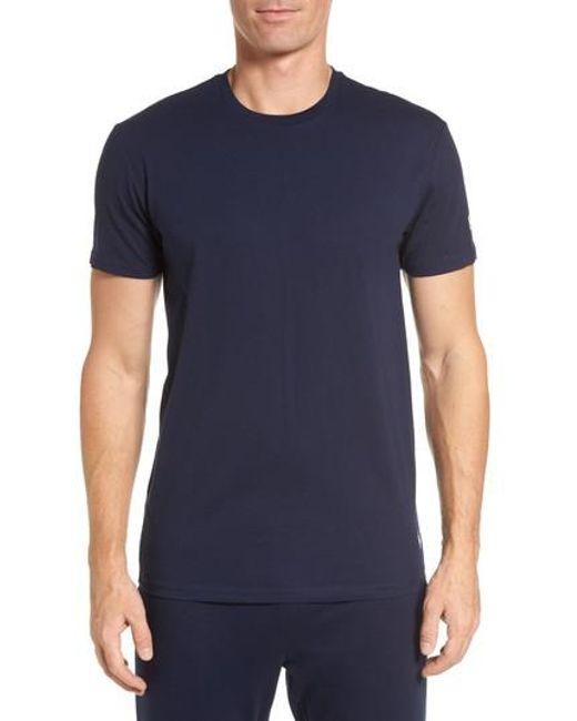 Polo Ralph Lauren | Blue Crewneck T-shirt for Men | Lyst