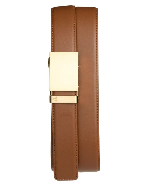Mission Belt - Metallic 'gold' Leather Belt for Men - Lyst
