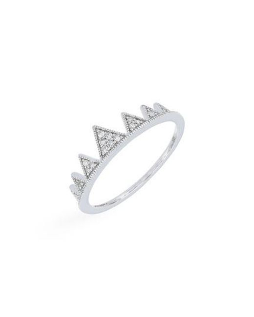 CARRIERE JEWELRY - Metallic Carriere Diamond Crown Ring (nordstrom Exclusive) - Lyst
