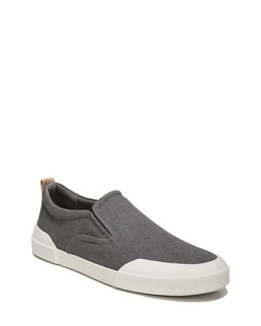 Vince - Gray Vernon Slip-on Sneaker for Men - Lyst