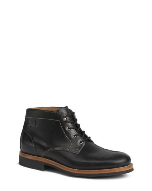 Trask | Black 'irving Mid' Plain Toe Boot for Men | Lyst