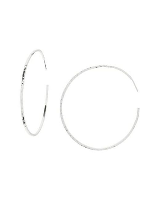 Gorjana - Metallic Taner Extra Large Hoop Earrings - Lyst