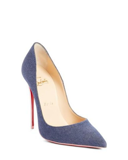 Christian Louboutin - Multicolor So Kate Pointy Toe Pump - Lyst