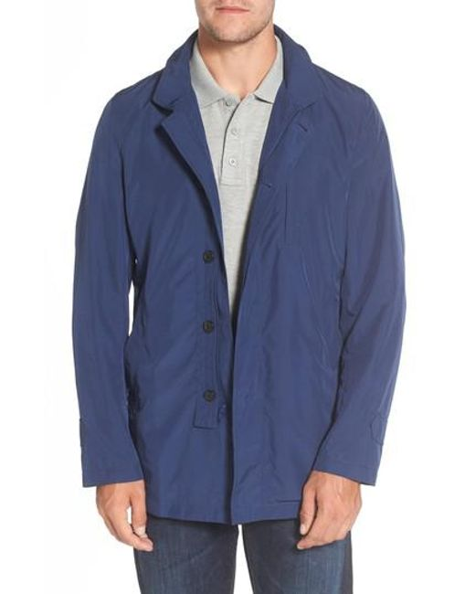 Sanyo | Packable Rain Coat, Blue for Men | Lyst