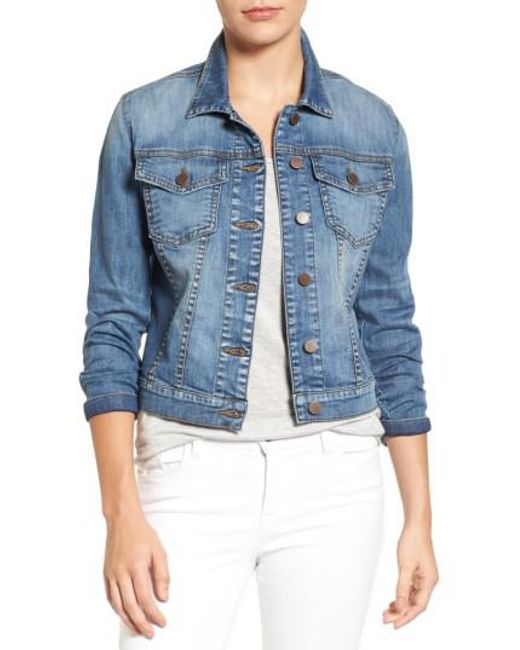 Kut From The Kloth | Blue Helena Denim Jacket | Lyst