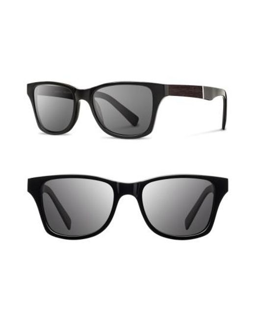 Shwood | Black 'canby' 53mm Polarized Wood Sunglasses for Men | Lyst