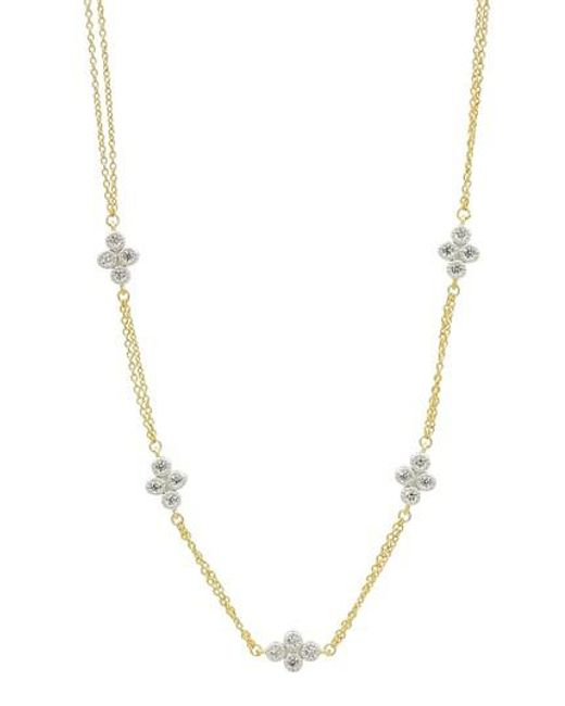 Freida Rothman   Metallic Visionary Fusion Strand Necklace   Lyst