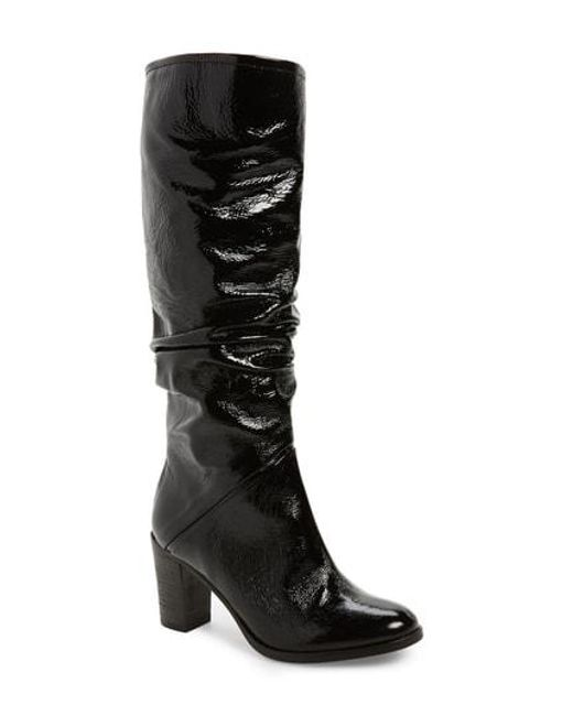 8daa9fa9dbd Lyst - Free People Tennison Knee High Boot in Black