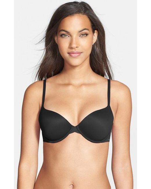 Calvin Klein | Black 'perfectly Fit - Modern' T-shirt Bra | Lyst