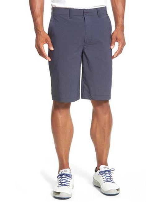 Travis Mathew | Blue 'hefner' Stretch Golf Shorts for Men | Lyst