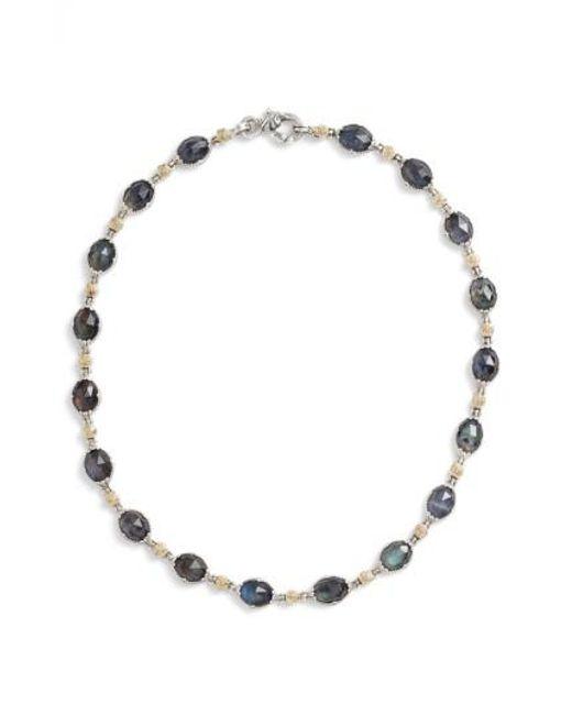 Konstantino | Metallic Cassiopeia Collar Necklace | Lyst