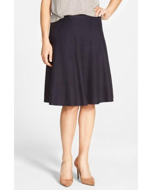 NIC+ZOE | Blue Panel Twirl Skirt | Lyst