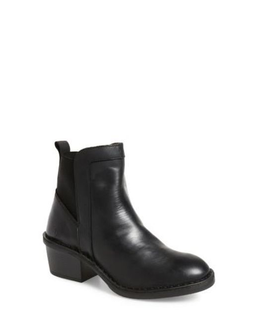 Fly London | Black Dicy Bootie | Lyst