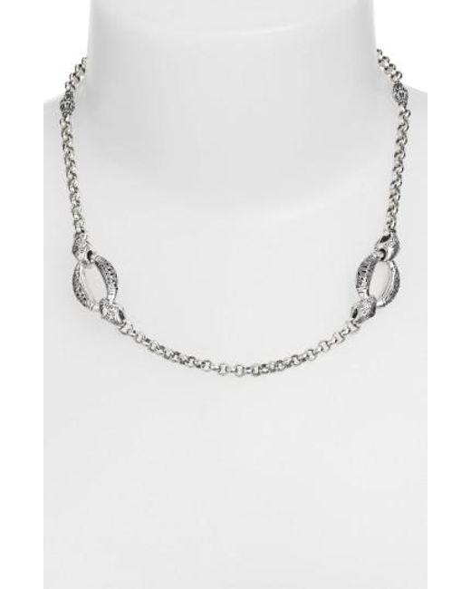 Konstantino - Metallic 'classics - Daphne' Link Necklace - Lyst