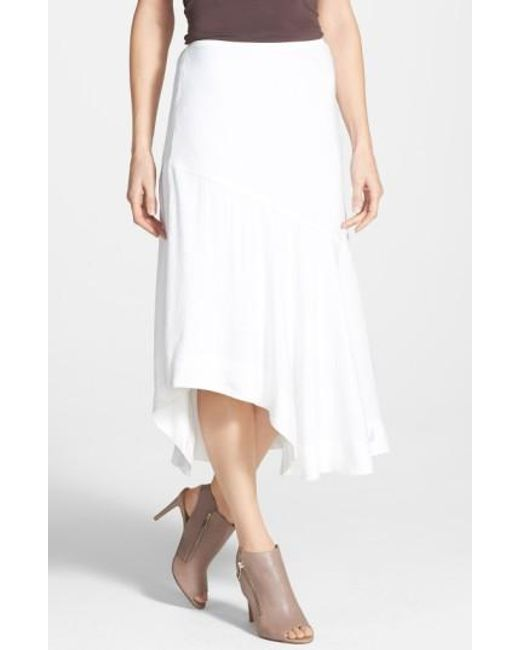 NIC+ZOE | White 'The Long Engagement' Midi Skirt | Lyst