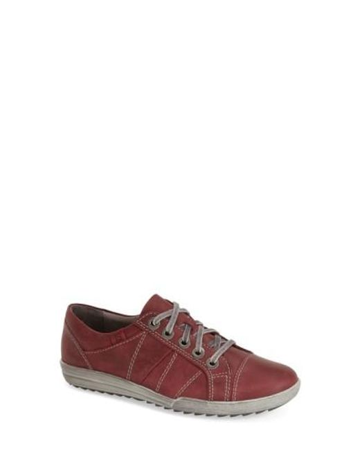 Josef Seibel | Blue 'dany 05' Leather Sneaker | Lyst