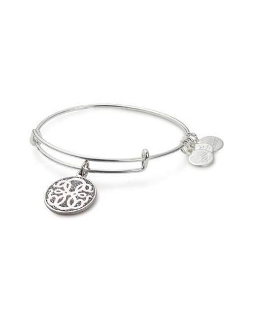 ALEX AND ANI | Metallic Path Life Expandable Wire Bangle | Lyst