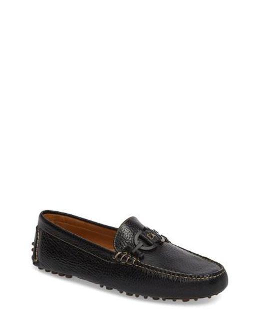 Donald J Pliner | Black Riel Driving Shoe for Men | Lyst