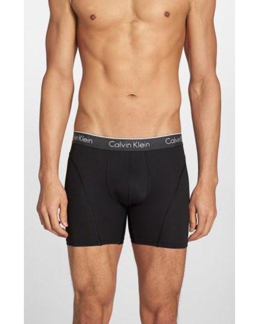 Calvin Klein | Black Air Fx Low Rise Boxer Briefs for Men | Lyst